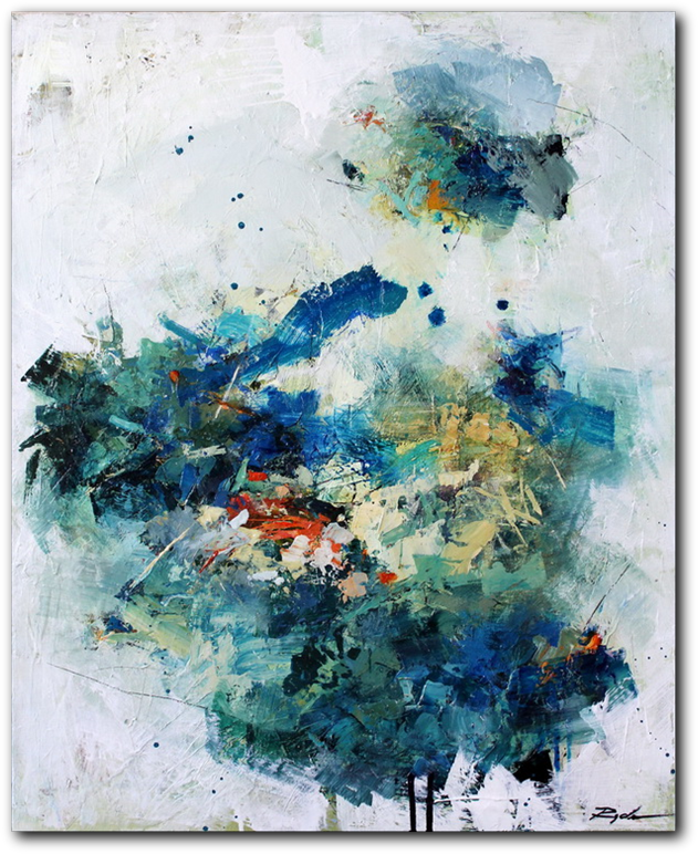 Undercurrent - abstract painting by Conn Ryder