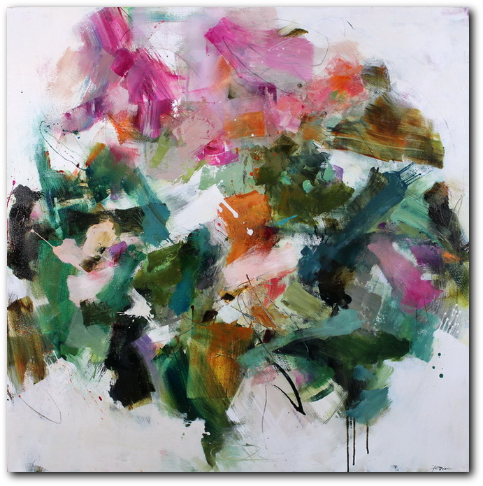 Thumbnail of Visibly Reawakened, abstract painting by Conn Ryder