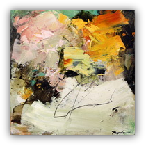 Thumbnail of Rebel Journey --  abstract painting by Conn Ryder