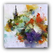 Thumbnail of Discombobulate, abstract painting by Conn Ryder