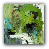 Thumbnail for Cluck ! - abstract painting by Conn Ryder