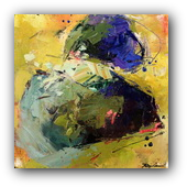 Thumbnail of Uprooted, abstract painting by Conn Ryder
