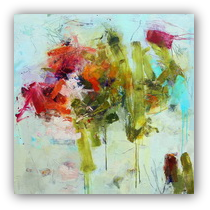 Thumbnail of Pistil-Whipped #12, abstract painting by Conn Ryder